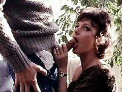 Honey Wilder, Jerry Butler in Jerry Butler doggy fucks a hot brunette chick