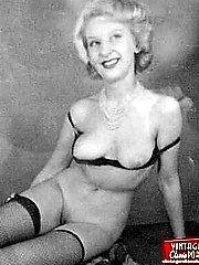 Nude posing twenties ladies