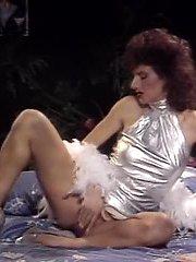 Aja, Candie Evans, Erica Boyer in vintage xxx scene