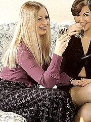 Two seventies ladies fucked