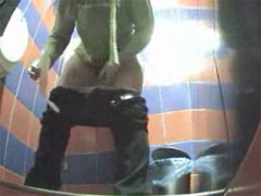 Hot clips from spy camera planted in ladies' room