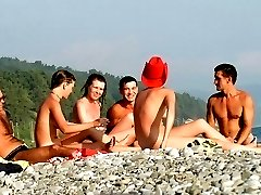 Look at their faces when these teens strip nude