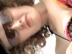 Voyeur spies after weeing girls in beach toilet