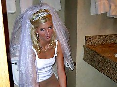 Gall of Sluts Share Bride In Motel