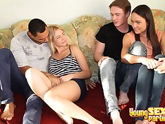 Great foursome sex party