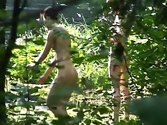 Nice looking nudist with pretty ass caught on our spy cam. See her stripped!