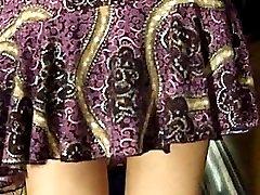 Her stunning ass looks really great. Watch piquant upskirt videos now