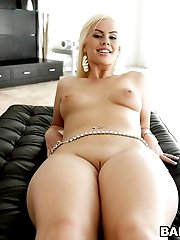 Lana Violet is a multi talented tugger who incorporates ball sucking, cock eating, and the...
