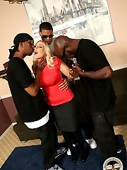 Angel Allwood Interracial Black Cock Movies at Blacks On Blondes!