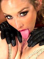 Welcome back the tough, doe eyed, raven haired beauty, Katharine Kane. Katharine loves...