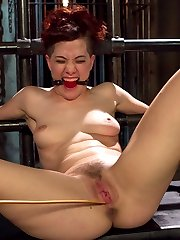 Ingrid Mouth is a local hard body who enjoys having her limits pushed hard with lesbian BDSM....