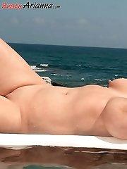 Arianna's Bikini Bust-Out