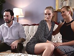 When Mona Wales and Tommy Pistol attend Couples' Therapy to try to save their crumbling marriage, Dr. Cheri Deville discovers the root of their problem: Anal Sex.Hot three way action featuring Cheri DeVille and Mona Wales into each other and taking it in the ass to save the relationship. Tommy Pistol turns the tables on both domineering women when he puts them in bondage and gags for hardcore BDSM and rough anal sex.