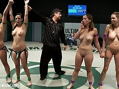 Welcome to Tag Squad Tuesdays. Entirely non-scripted, all in front of a live audience, all broadcast live to members. Today's update is RD Four of 4. This was December's live match, now edited for your gusto!   After one of the most astounding dramatic Tag Team matches to date, Rain DeGrey and Audrey Rose are going to get sexually wrecked.  The winners have strapped on and are going to bring the sexual beat down the dummies deserve for deepthroating a 100 point lead.  Isis love steps in and wields the fist of an angry Goddess.  Cruel handballing, drizzling and giant orgasm overload are what the dummies endure. Utter humiliation in front of the live audience!THIS IS THE Whole MATCH EDITED, ALL ROUNDS!