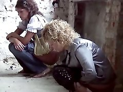 Stealthily made movies of two pretty girls doing a pee