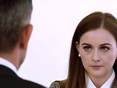 VIXEN Intern Gets Dominated By Her Fathers Business Partner