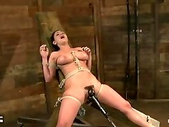 Charley roped with most intense orgasms ever recorded