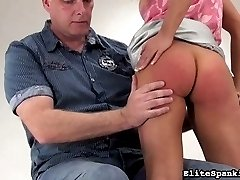 Barra has been a very naughty girl. Her spanking Master didnt even wait for us to record the...