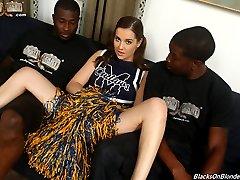 Kasey Warner Loves Interracial Sex at Blacks On Blondes!