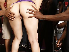 Interracial Cock Lover Valentina Nappi GangFucked By Black Cocks at Blacks On Blondes!