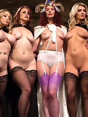 The secret Divine Bitch femdom society meet again for their second meeting of the year and this...
