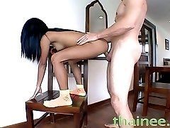 Tiny Asian girl is fucked in unimaginable ways!