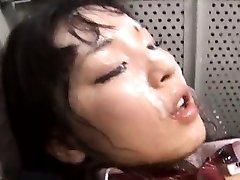 Japanese AV Model gets boner in hairy pussy TokyoBang.com