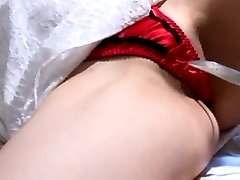 Akiho Yoshizawa in white dress is touched WierdJapan.com