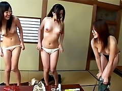 Japanese teens in sex party