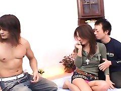 Nana Nanami Asian has pussy aroused and hot TokyoBang.com