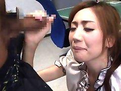 Kaori Maeda Asian gets hard boner to stroke JpTeacher.com