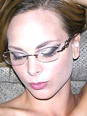 Sexy Amateur Blonde Babe Modeling Nude - Jenny J. Model