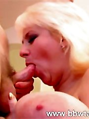 Hard young dick fucking saggy fat boobs!br