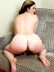Juicy fatty demonstrates both of her smooth holes
