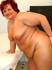 Fat mature lady gets drilled in the doctors office!