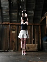 Twenty-one year old Andy San Dimas is nice.  With some experience in Sadism & Masochism, she enjoys experiencing restrained and powerless in bondage.  Sandra Romain gets into Andy's head as she inflicts agony and sexually dominates her.  Things gets a lil' crazy as Sandra instructs Andy to say what you would least hope during an orgasm denial.  It's a hell of a right for Ms Dimas from embark to complete.