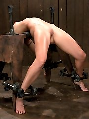 Wenona has been doing bondage modeling for close to 9 years. This girl gets hotter and more fit...