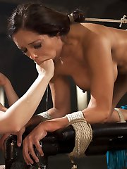 Dominatrix and porn legend Francesca Le submits for the first time in 4 years to fetish goddess...