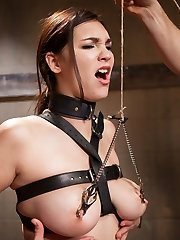 She is young and naive. Perfect submissive fodder for some mean old man to come along and take...