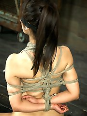 Marica Hase is a beautiful, bound Japanese babe. She has a cute smile and makes the most...