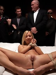 Nicki Blue honors The Upper Floor by allowing us to throw her deflowering party. During the...
