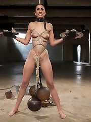 We welcome our bad girl Lyla Storm back for a second grueling day in the basement. She is to be...