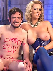 Slave Fluffy is passed around from Bitch to Bitch and this session he gets extra special...