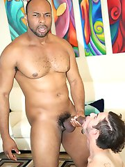 Frank Texas Ray Diesel at Blacks On Boys - The World Leader In Gay Interracial Porn