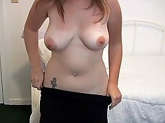 Busty amateur girl allows boyfriend to make a homemade sex video