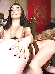 Lea Lexis is the empress of a great city and the emperor has been demanding more and more anal...