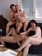 Hot mature swingers ready to party all day long