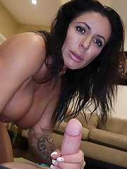Simone G Muscle Milked at Over40handjobs