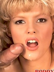 Busty retro wife gets cock