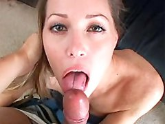 Pretty girl with nice pussy drilled hard for creampie